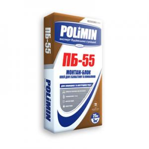 ПБ-55 МОНТАЖ-БЛОК Клей для газобетона и пеноблоков