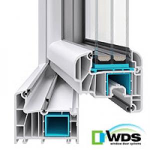 WDS 8ми камерный профиль (ГЛАССО ЛЮКС)